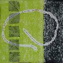 Chartreuse Line Studyby Karen