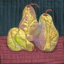 Gilded Pears by Gerrie