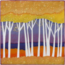 Aspens - yellow and purple by Terry