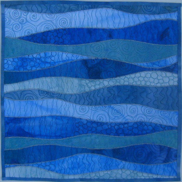 Quilting Designs For Water : Twelve by Twelve: Water Theme Gallery